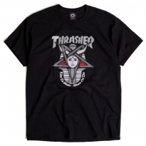 f929a4b4744 THRASHER GODDESS -Black-