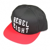 REBEL8 ROCKER SNAPBACK -Black- be1a0835a2cd